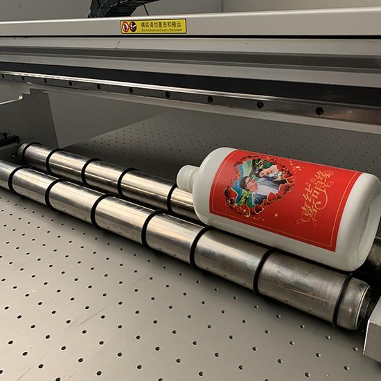 UV-printer-rotary-bottle device